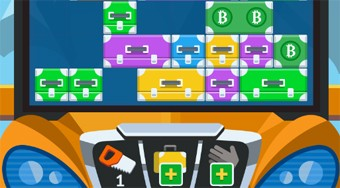 Bus with Suitcases - online game | Mahee.com