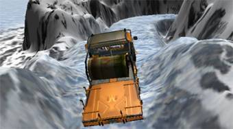 Mountain Truck Transport - online game | Mahee.com