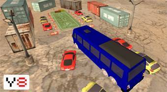 Extreme Bus Parking 3D - online game | Mahee.com