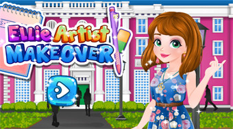 Ellie Artist Makeover