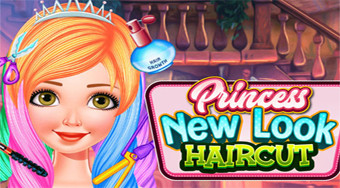 Princess New Look Haircut - Game | Mahee.com