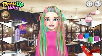 Burning Man Hairstyles - online game | Mahee.com