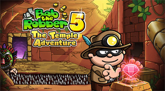 Bob the Robber 5: Temple Adventure | Free online game | Mahee.com