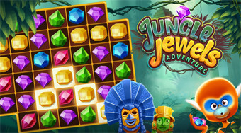 Jungle Jewels | Free online game | Mahee.com