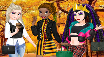 Princess Urban Outfitters Autumn - online game | Mahee.com