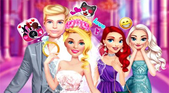 Barbie Wedding Fun - online game | Mahee.com
