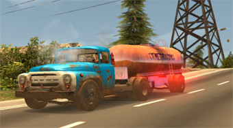 Russian Car Driver ZIL 130 - online game | Mahee.com