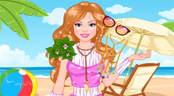 Barbie's Island Blog Trends | Free online game | Mahee.com