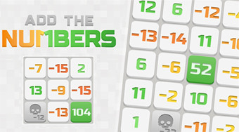Add the Numbers - online game | Mahee.com