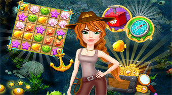 Match 3: Hidden Treasure Hunt | Mahee.com