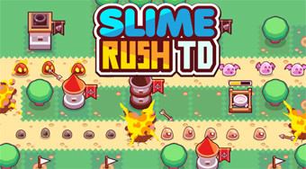 Slime Rush TD | Free online game | Mahee.com