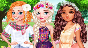 Design My Stylish Flower Crown | Free online game | Mahee.com