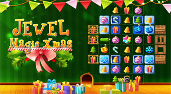Jewel Magic Xmas | Free online game | Mahee.com