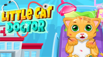 Little Cat Doctor - Game | Mahee.com