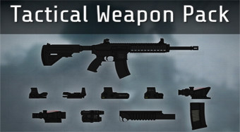 Tactical Weapon Pack - online game | Mahee.com
