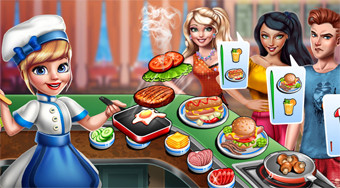 Cooking Scene | Free online game | Mahee.com