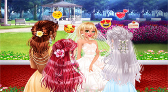 Disney Bridesmaids Hair Salon | Free online game | Mahee.com