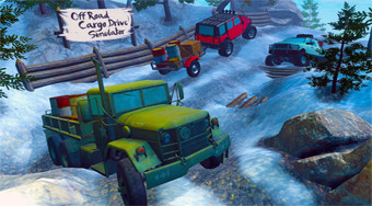 Off Road Cargo Drive Simulator - online game | Mahee.com