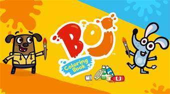 Boj Coloring Book | Free online game | Mahee.com