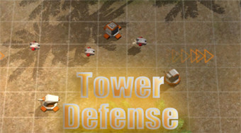 Tower Defense Robots - online game | Mahee.com