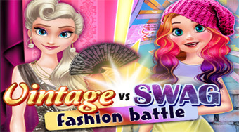 Vintage vs Swag Fashion Battle | Mahee.es