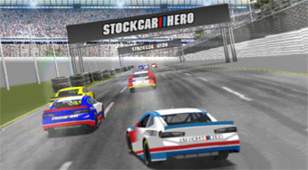 Stock Car Hero | Free online game | Mahee.com