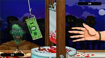 Handless Millionaire Zombie Food | Free online game | Mahee.com