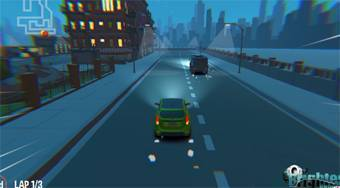 3D Night City: 2 Player Racing - Game | Mahee.com