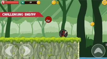 Ball Hero Adventure: Red Bounce Ball - Game | Mahee.com