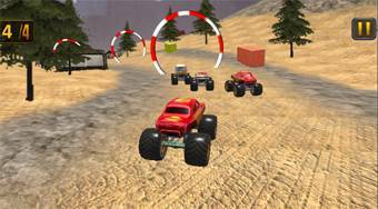 Monster Truck Dirt Rally | Mahee.com
