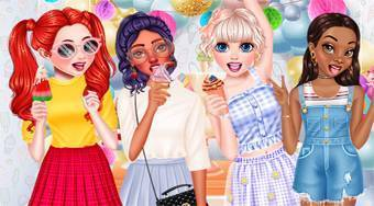 Ice Cream Birthday Party - Game | Mahee.com