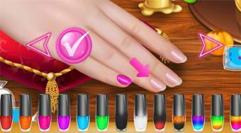 Horrible Lovely Manicure Halloween 2019 | Free online game | Mahee.com