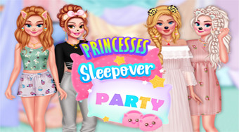 Princesses Sleepover Party - Game | Mahee.com