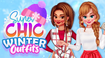 Super Chic Winter Outfits | Free online game | Mahee.com