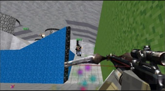 Blocky Gun Paintball 3 | Free online game | Mahee.com