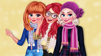 My Kawaii Winter Scarf - Game | Mahee.com