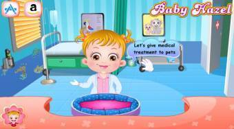 Baby Hazel Pet Doctor - Game | Mahee.com