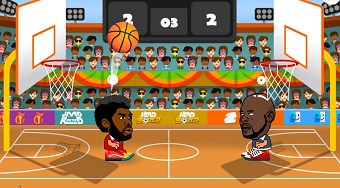 Head Sports Basketball | Free online game | Mahee.com