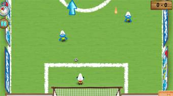 Smurfs Football Match - online game | Mahee.com