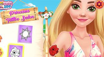 Princess Tattoo Design - online game | Mahee.com