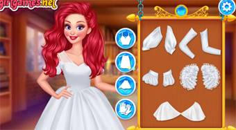 Magical Ball Dress Design - online game | Mahee.com