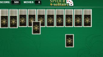 Classic Spider Solitaire - online game | Mahee.com