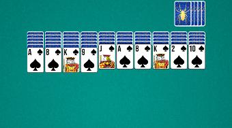 Spider Solitaire Playtouch | Free online game | Mahee.com
