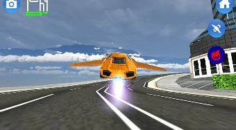 Flying Car Driving Simulator | Free online game | Mahee.com