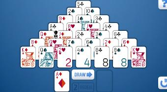 FGP Pyramid Solitaire | Free online game | Mahee.com