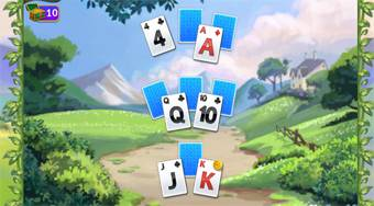 Kings and Queen Solitaire Tripeaks