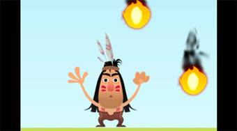 Protect Red Indian Man - Game | Mahee.com