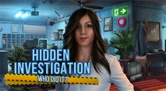 Hidden Investigation: Who Did It? - Game | Mahee.com