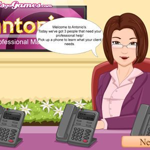 Antonio Professional Make Up Artist Mobile Game