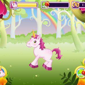 Cuidar De Un Unicornio Juego Para Tablet